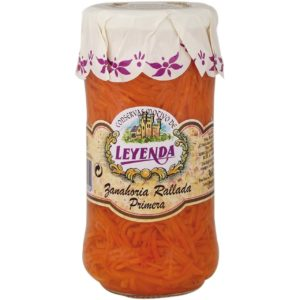 Zanahoria rallada primera La leyenda