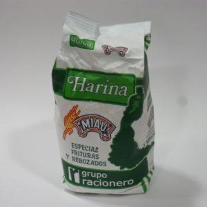 Harina especial frituras y rebozados Miau