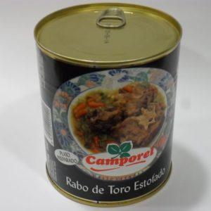 Rabo de toro estofado Camporel
