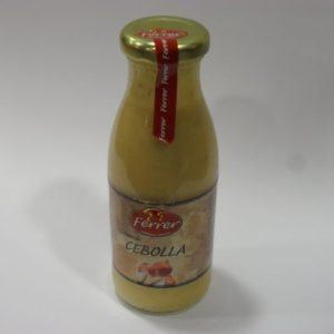 Crema de cebolla Ferrer