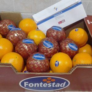 Caja de Naranja de Zumo Fontestad