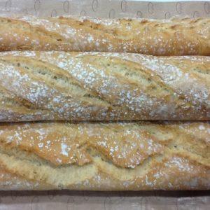 Pan de leña (chapatas)