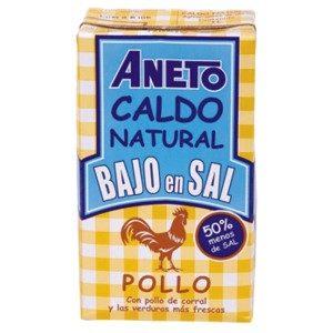 Caldo de Pollo Bajo en Sal