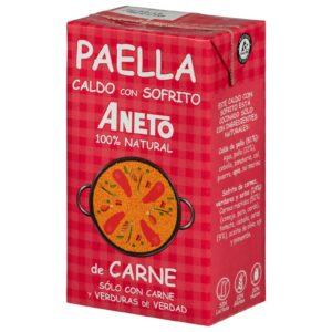 Caldo para Paella Carne y Verduras