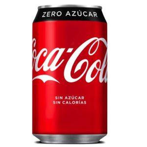 Pack coca cola cero ( 24 latas)