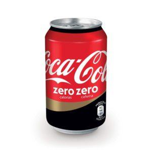 Pack coca cola cero azúcar cero cafeína( 24 latas)