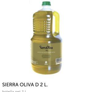 Aceite de Oliva Virgen Extra 2 litros (Sierra Oliva)