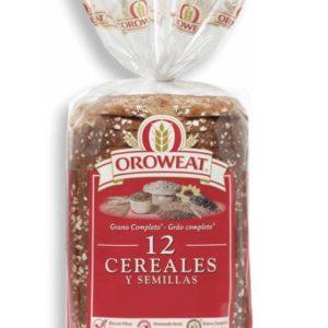 Pan Bimbo oroweat 12 semillas y cereales