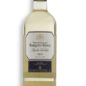 Vino blanco marqués de riscal
