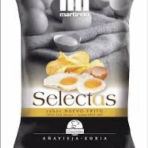 Patatas sabor huevo