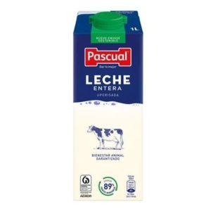 Leche entera pascual 6 unid