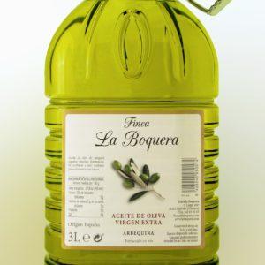 Aceite de Oliva Virgen Extra Arbequina (Garrafa de 3L)