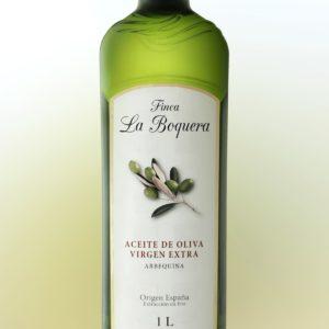 Aceite de Oliva Virgen Extra Arbequina (Botella de 1L)