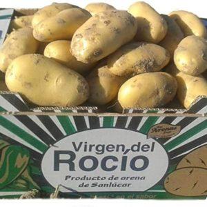 Patatas de chipiona (caja de 12.5 kilos )